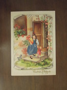 Buona  Pasqua  -  Cartolina Anni 1940 - Pascua