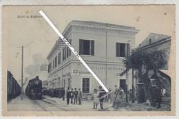 SALUTI DA MADDALONI-STAZIONE FERROVIARIA - Napoli (Naples)