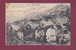 180817 - AMERIQUE ARGENTINE - Republica Argentina - ARAUCANOS Familia De Un Cazique ? SANTA CRUZ - Argentine