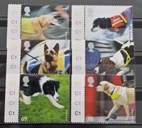 Great Britain, 2008, Mi: 2606/11 (MNH) - Honden