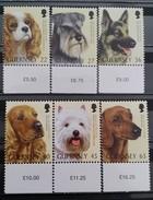 Great Britain (Guernsey), 2001, Mi: 884/89 (MNH) - Honden