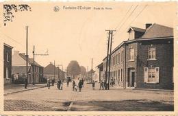 Fontaine-l'Evêque NA27: Route De Mons - Fontaine-l'Evêque