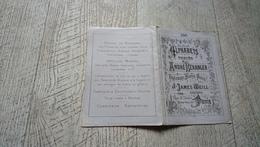 Album Ancien Dépliant  Alphabets Variés André Béranger N°248  Point De Croix Broderie Mode - Fashion