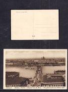 Postcard Budapest Kilatas A Varbol Old Unused ( 94 ) - Hungary
