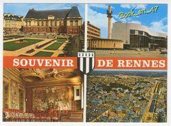 {70214} 35 Ille Et Vilaine Souvenir De Rennes , Multivues ; Vue Générale , Maison De La Culture Et De La Radio - Rennes