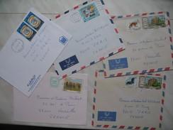 Emirats Arabes Unis    Lot De 5 Lettre    à Voir - Emirats Arabes Unis (Général)