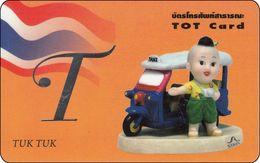 Thailand Phonecard TOT Nr. 373  Tuk Tuk - Thaïlande