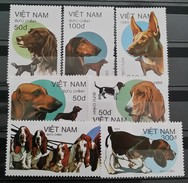 Vietnam, 1989, Mi: 2073/79 (MNH) - Hunde