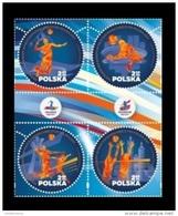 Poland 2017 Mih. 4927/30 European Volleyball Championship MNH ** - Ongebruikt