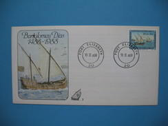 Afrique Du Sud     Bartolomeu Dias  1488 - 1988    Port Elisabeth Le 19 II A88 - Afrique Du Sud (1961-...)