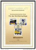 Berlin - ETB (Ersttagsblatt) 13/1990 Michel876 / 878 - Geschichte Der Post, Wohlfahrtsmarken 1990 - [5] Berlijn