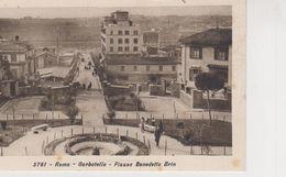 ROMA -GARBATELLA - PIAZZA BENEDETTO BRIN- FORMATO PICCOLO ED. DIENA - Other