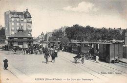 Rennes Gare Des Tramways Sorel 132 - Rennes