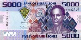 SIERRA LEONE 5000 LEONES 2013 P-32b UNC [SL127b] - Sierra Leone