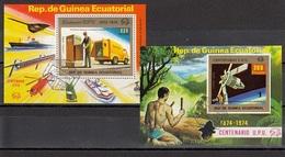 EQUATORIAL GUINEA Block 138-139,used - Äquatorial-Guinea