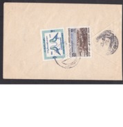 Afghanistan: Cover, 1969, 2 Stamps, Women's Day, Pigeon, Bird, Panorama Herat, Rare Real Use! (traces Of Use) - Afghanistan