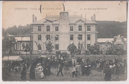 BARENTIN : FETES DU 14 OCTOBRE 1906 - LE GROUPE SCOLAIRE - 2 SCANS - - Barentin