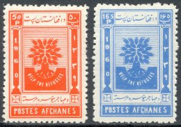 Afghanistan, 1960, Help The Refugies, MNH Set - Afghanistan