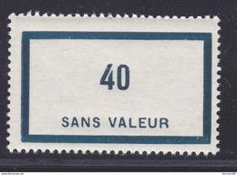 FRANCE FICTIF N°  F89 ** MNH Timbre Neuf Sans Charnière, TB - Phantomausgaben