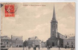 ROCROI - Place D'Armes Et Eglise - état - Autres Communes