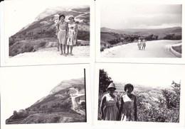 GABICCE - LOTTO DI 4 FOTO DEL 1962 CON DIDASCALIA - Lieux