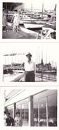 RICCIONE - LOTTO DI 3 FOTO DEL 1962 CON DIDASCALIA - Lieux