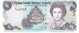 CAYMAN ISLANDS 1 DOLLAR 2006 PICK 33a UNC - Islas Caimán