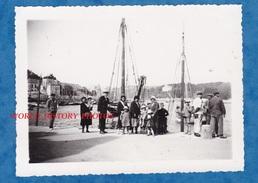 Photo Ancienne - AUDIERNE - Animation Sur Le Port - TOP - Juin 1932 - Bateau - Bateaux