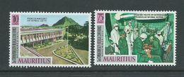 Mauritius 1971 Medical Conference Set 2 MNH - Mauritius (1968-...)