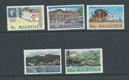 Mauritius 1970 Port Louis Set 5 MNH - Mauritius (1968-...)