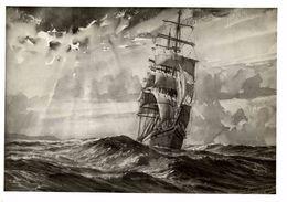 MARTHE    +- 22*  17CM  REAL PHOTOGRAPH BOAT BARCO  BOAT Voilier - Velero - Sailboat - Barche