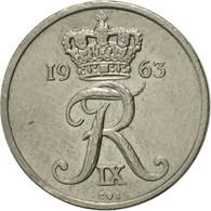 Danemark, Frederik IX, 10 Öre, 1963, Copenhagen, TTB+, Copper-nickel, KM:849.1 - Denmark