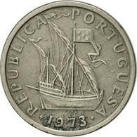 Portugal, 2-1/2 Escudos, 1973, TTB+, Copper-nickel, KM:590 - Portugal