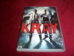 LA LEGENDE DES KRAY   2 DVD   L'ASCENSION DES KRAY  ET LA CHUTE DES KRAY - Policiers