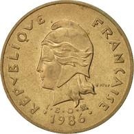 French Polynesia, 100 Francs, 1986, Paris, TTB, Nickel-Bronze, KM:14 - Polynésie Française
