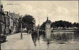 Cp Alkmaar Nordholland Niederlande, Vaarmeer, Partie Im Hafen - Paesi Bassi