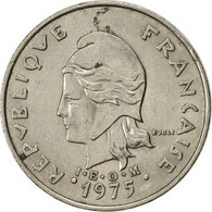 French Polynesia, 20 Francs, 1975, Paris, SUP, Nickel, KM:9 - Polynésie Française