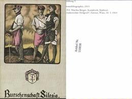 550838,REPRODUKTION Studentika Studentica Silesia Burschenschaft - Schulen
