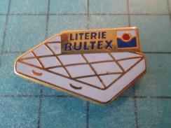 Pin415c Pin's Pins : Rare Et Belle Qualité MARQUES /  LITERIE BULTEX MATELAS - Trademarks