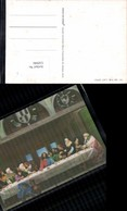 550946,3D 3-D Effektkarte Religion Jesus Letztes Abendmahl - Ansichtskarten