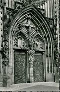 AK Olpe, Portal Der Martinuskirche, O 1961 (14630) - Olpe