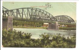 Deventer. Spoorbrug. Postzegel 1/2 C Vürtheim In Paartje 1909 - Deventer