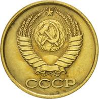 Russie, Kopek, 1987, Saint-Petersburg, TTB+, Laiton, KM:126a - Russia