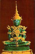 ! Moderne Ansichtskarte Aus Thailand, Emerald Budha, Bangkok, Asia - Thaïland