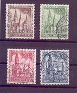 Berlin 1953 - Gedächtniskirche - Mi.Nr.106/109 Rund Gest. - Michel 230,00€ (838) - Used Stamps