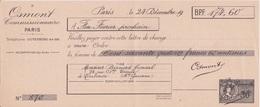 Fiscal Fiscaux -  Timbre 30 C Sur QUITTANCE FACTICE école De Commerce PIGIER - Specimen - OSMONT 1942 - Fiscaux