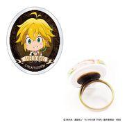 """Nanatsu No Taizai ( The Seven Deadly Sins ) Acrylic Ring """" Meliodas """" - Rings"""