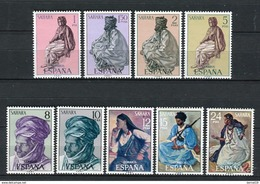 Sahara 1972. Edifil 297-305 ** MNH. - Sahara Spagnolo