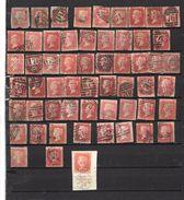 Grande Bretagne Collection, Plus De 50  2penny Rouge - Verzamelingen (zonder Album)
