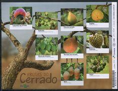 Brazil 2016 Brasil / Fruits MNH Frutas Früchte / Cu4908  40-52 - Frutas
